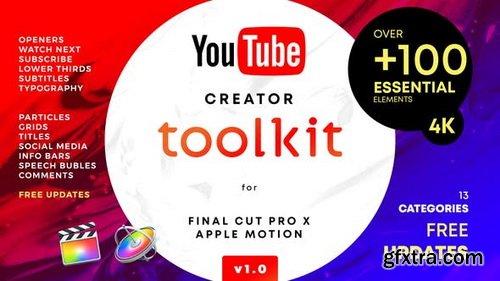 Videohive - YouTube FCPX Creator Tool Kit V1 - 25022531 1