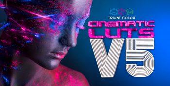 CINEMATIC LUTS V5 - TRIUNE DIGITAL 3