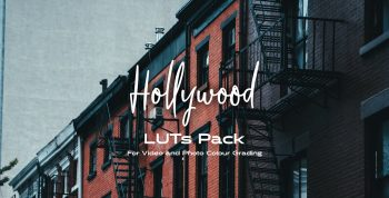 Hollywood LUTs pack 5