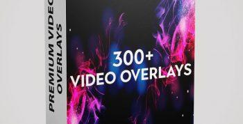 300+ 4K VIDEO OVERLAYS 6