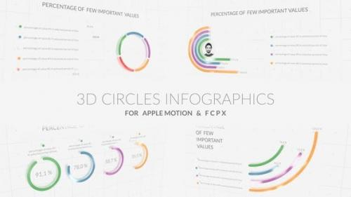 Videohive - 3D Circles Infographics - 30811289 1
