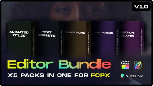 FCPX Editor Bundle – Videohive 30918245 1