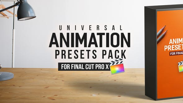 Animation Presets Pack for Final Cut Pro X – Videohive 23357036 1