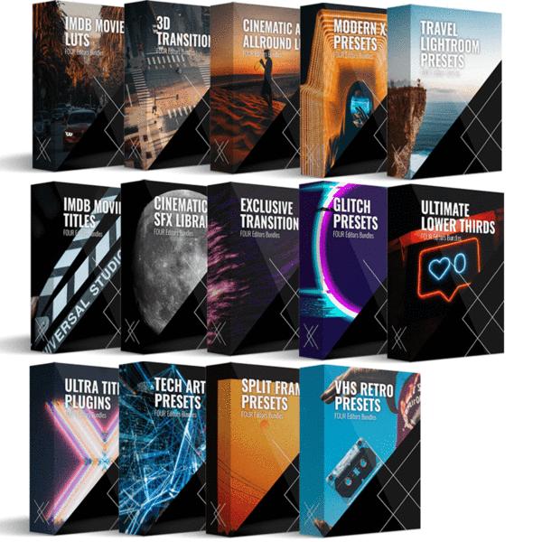 FOUR Editors – Platinum Bundle Complete 1