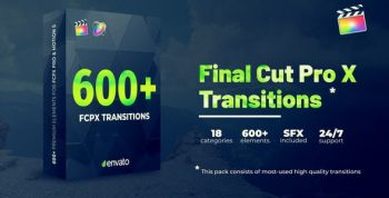 600+ Transitions FCPX By Nick_Chvalun - VH 33170563 5