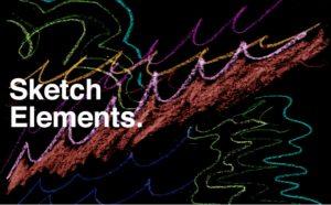 Ezra Cohen – Sketch Elements – 4K 3
