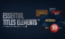 Essential Titles Elements For FCP by Century Agency 16